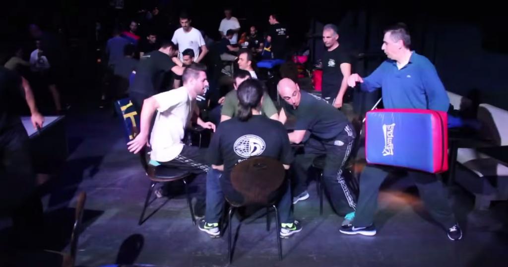 Seminar autoapărare - luptă în club / bar / discotecă