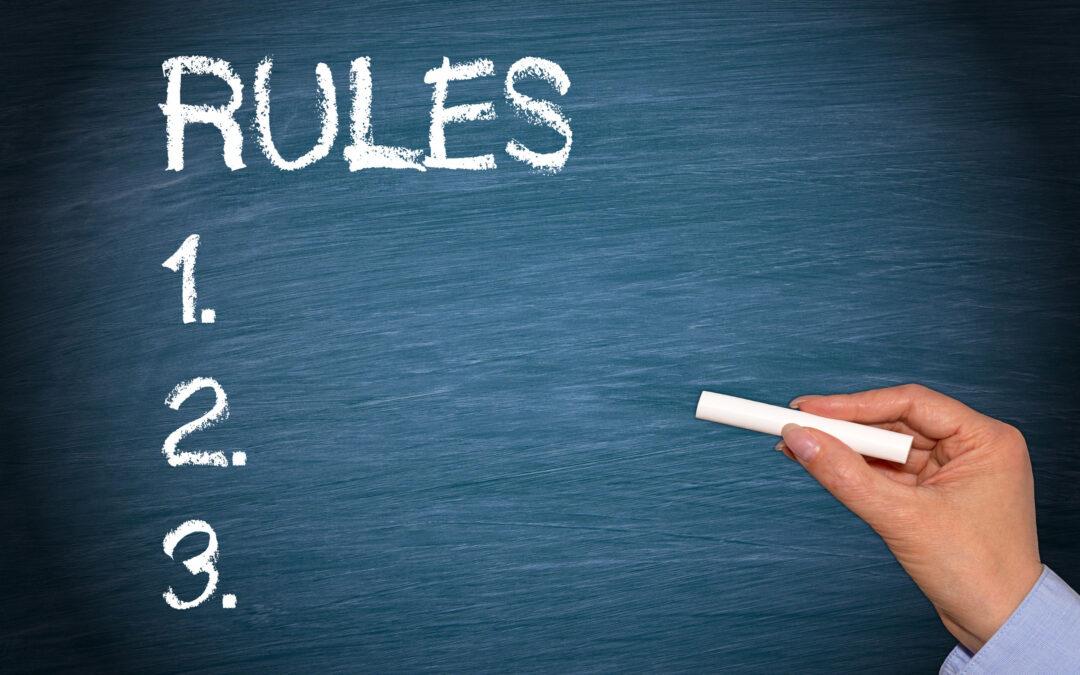 Regulile sălii